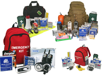 Standard and bespoke Emergency Kits for individuals, communities, businesses and organization in the UK and worldwide | READY UK from EVAQ8.co.uk the UK's Emergency Prepardness specialist