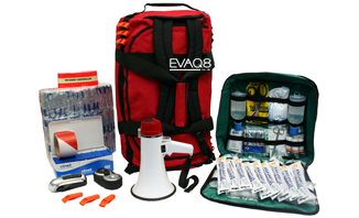 Site Evacuation Kit - Business Emergency Preparedness | READY UK BusinessContinuity and Emergency Preparedness supplies | EVAQ8.co.uk the UK's Emergency Prepardness specialist READY UK